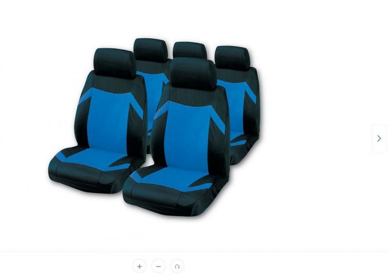 """Bottari Grand Prix """"Keen"""" univerzális autós üléshuzat készlet, kék"""