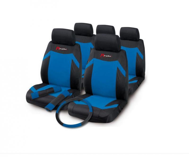 """Bottari Revolution """"Indy"""" univerzális üléshuzat komplett készlet, kék"""