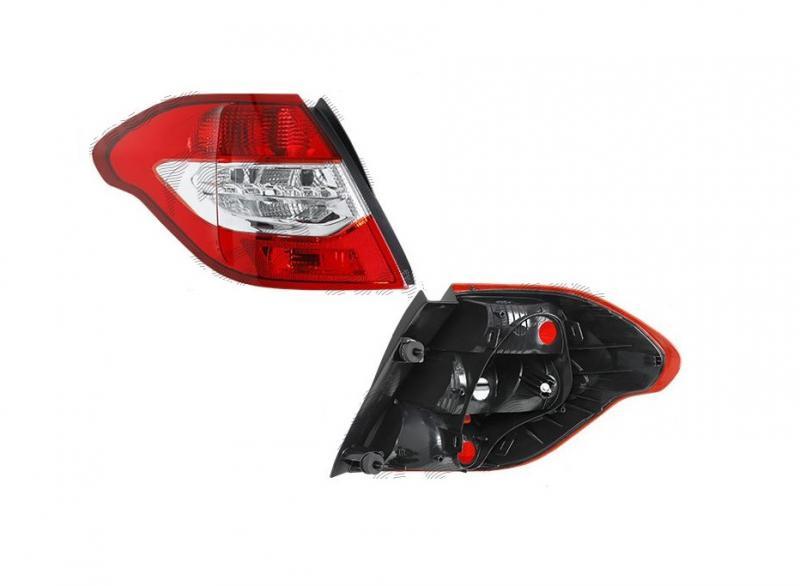 Citroen C4 10- hátsó lámpa