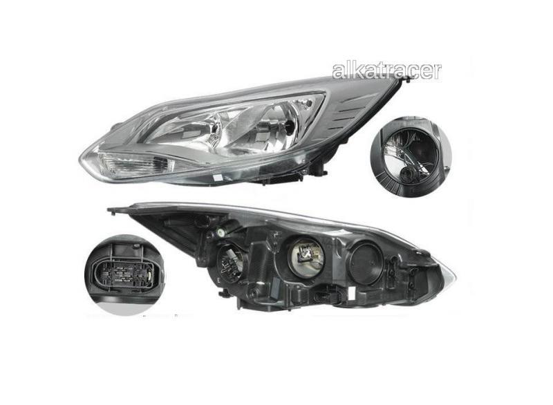 Ford Focus 2011- Króm fényszóró gyári Visteon