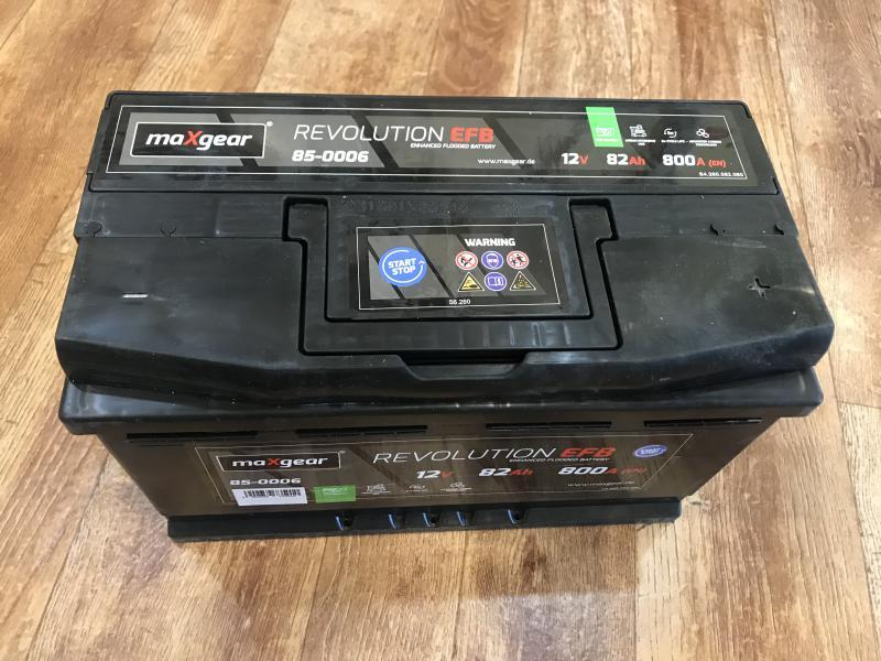 Maxgear Start Stop Akkumulátor 82Ah 800A Jobb+