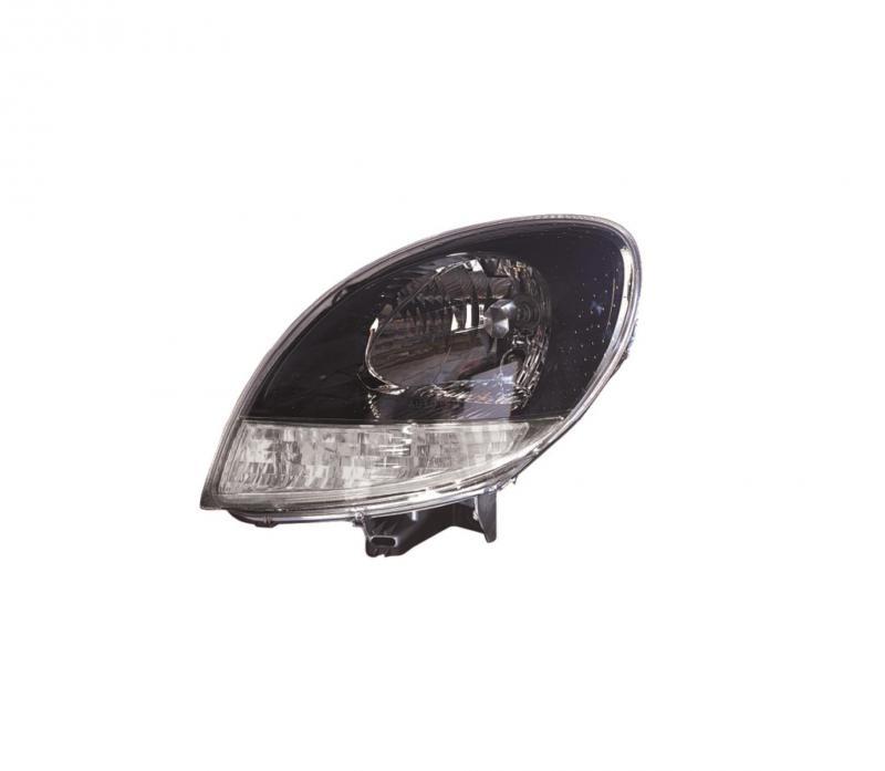 Nissan Kubistar 2003-2008 fekete belsős fényszóró