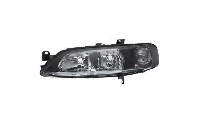 Opel B Vectra 99-03 fekete fényszóró