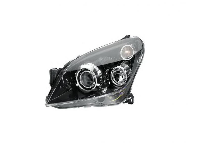 Opel H Astra fekete fényszóró