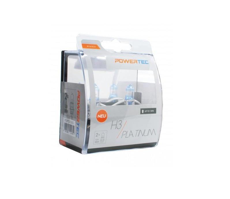 Powertec H3 Platinum 130% more light izzók
