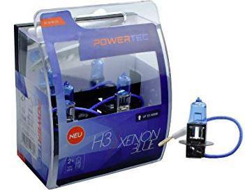 Powertec H3 Xenon BLue izzók