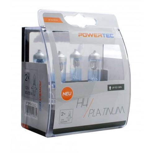 Powertec H4 Platinum 130% more light izzók