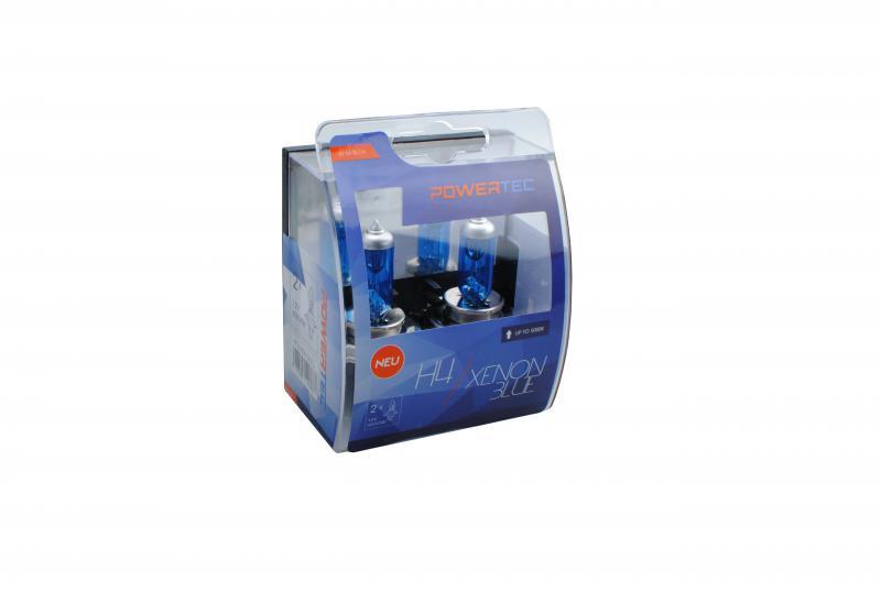 Powertec H4 Xenon BLue izzók