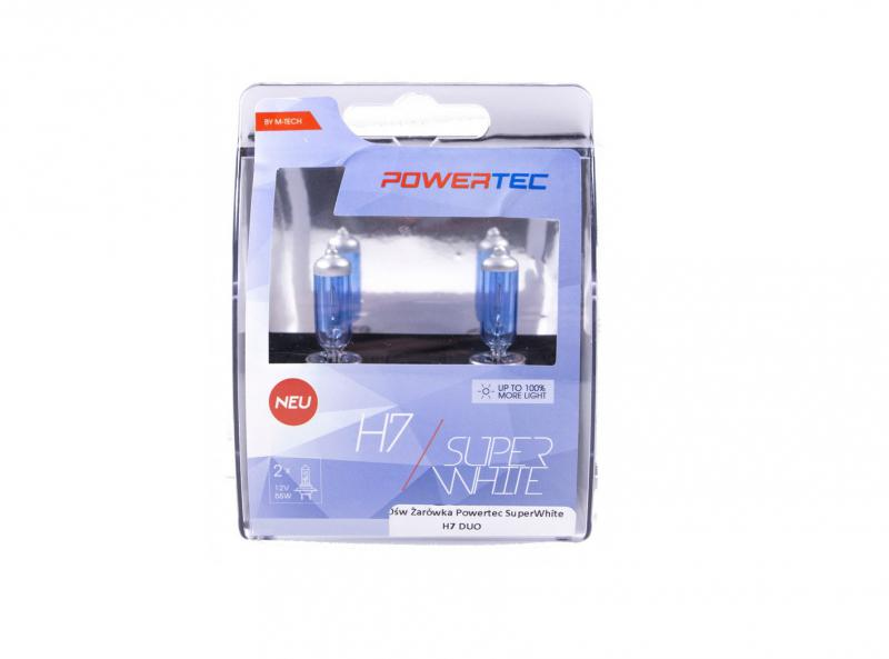Powertec H7 Super White 100% more light izzók