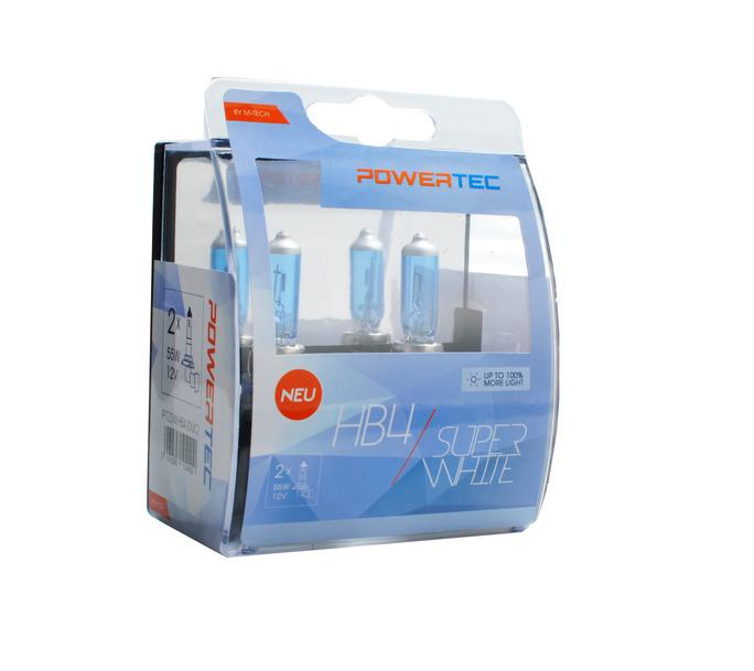 Powertec HB4 Super White 100% more light izzók