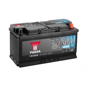 Akkumulátor Yuasa AGM 95AH 850A Jobb+ SYSTEM START-STOP