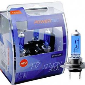 Powertec H7 Xenon BLue izzók