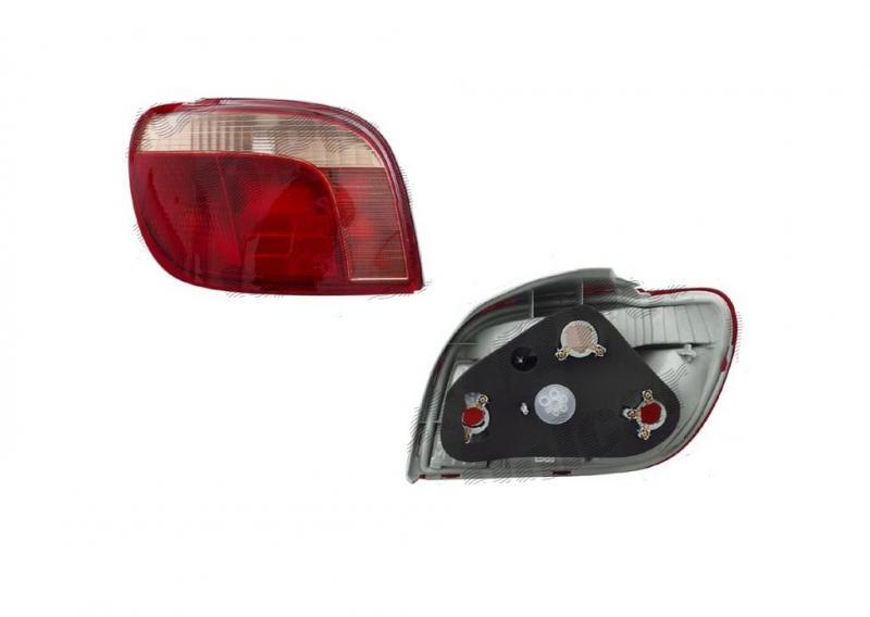 Toyota Yaris 99-03 hátsó lámpa
