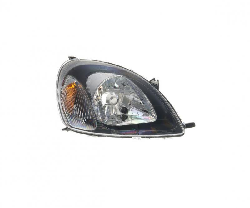 Toyota Yaris (XP10) 99-06 fekete fényszóró