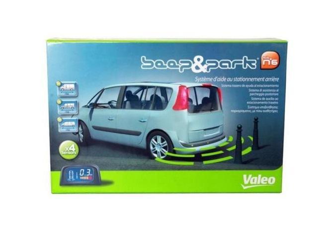 Valeo Beep & Park kit n°6 (632015) LCD kijelzővel!