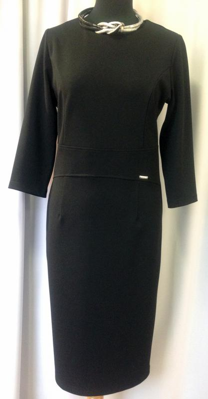 Egyszerű fekete ruha