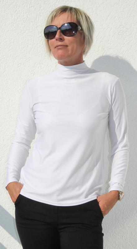 Fehér színű félgarbó