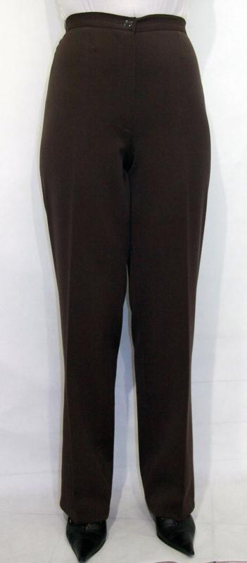 Gumis - cipzáras nadrág – barna