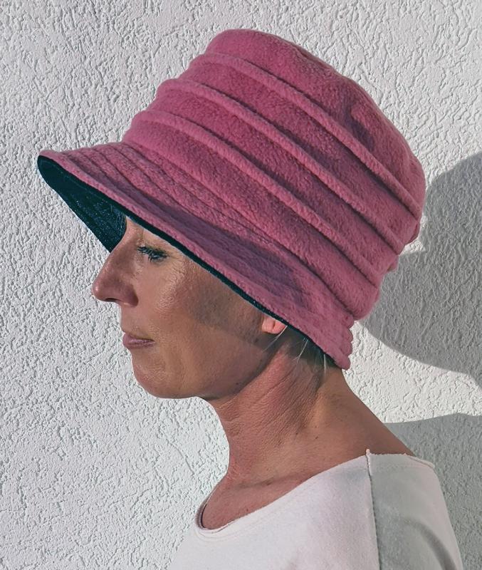 Kalapsapka rózsaszín színben