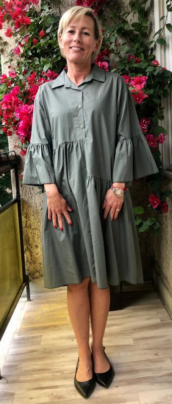 Stella Milani® nyári ruha – zöld