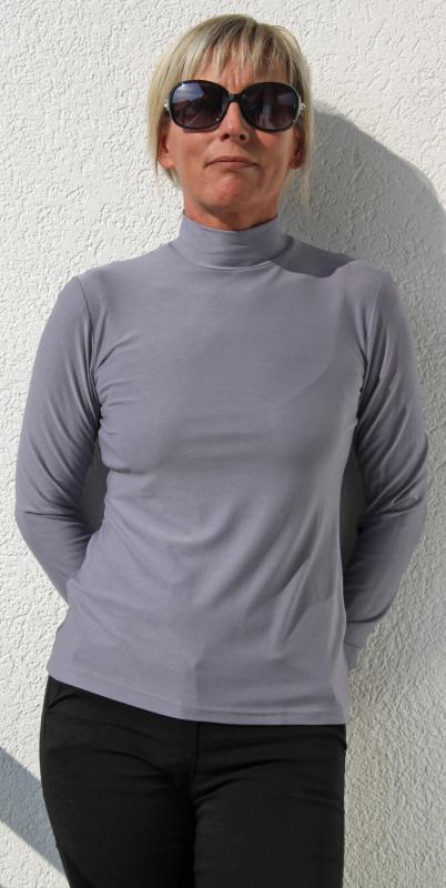 Szürke színű félgarbó
