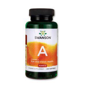 A-vitamin 10000NE (250 kapszula) - Swanson