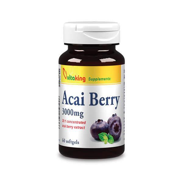 Acai Berry kivonat (60) – Vitaking