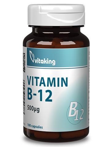 B-12 vitamin (100 kapszula) - Vitaking