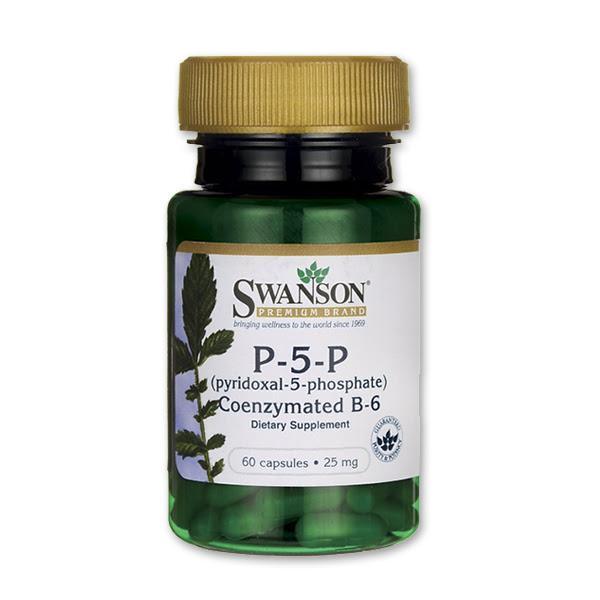 B6-vitamin (60 kapszula) - Swanson