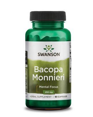 Bacopa Monnieri 250mg (Swanson)