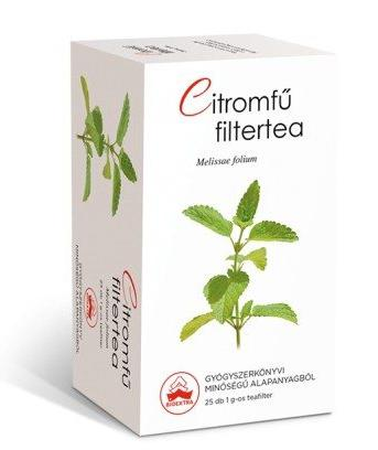 Bioextra citromfű tea – 25 filter