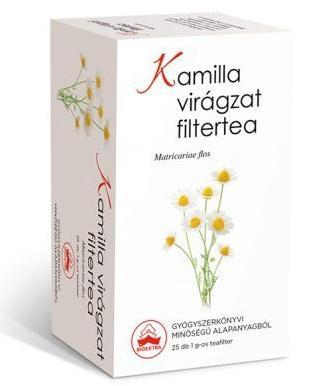 Bioextra kamilla virágzat tea – 25filter