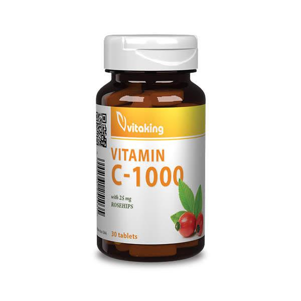 C-vitamin 1000mg – Vitaking (30)