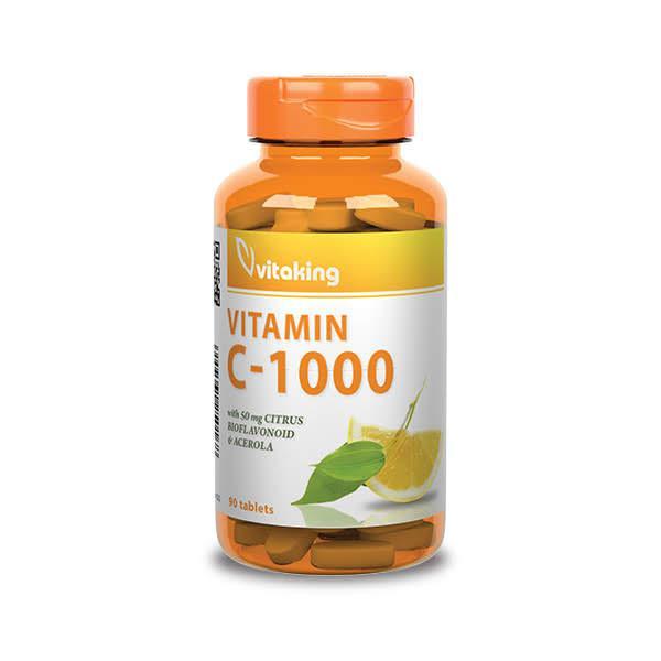 C-vitamin 1000mg Biof. – Vitaking (90)