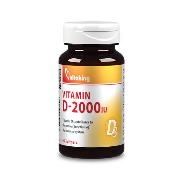 D3 vitamin 2000NE – Vitaking