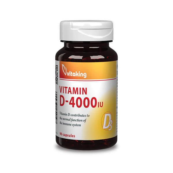 D3-vitamin 4000NE – Vitaking