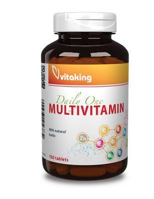 Daily One multivitamin (150 db)