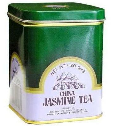 Dr. Chen Eredeti kínai zöld tea jázminnal fémdobozban – 120g