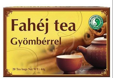 Dr. Chen Fahéj – Gyömbér tea – 20filter