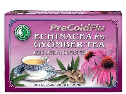 Dr. Chen PreColdFlu Tea Echinacea és gyömbér tea – 20filter