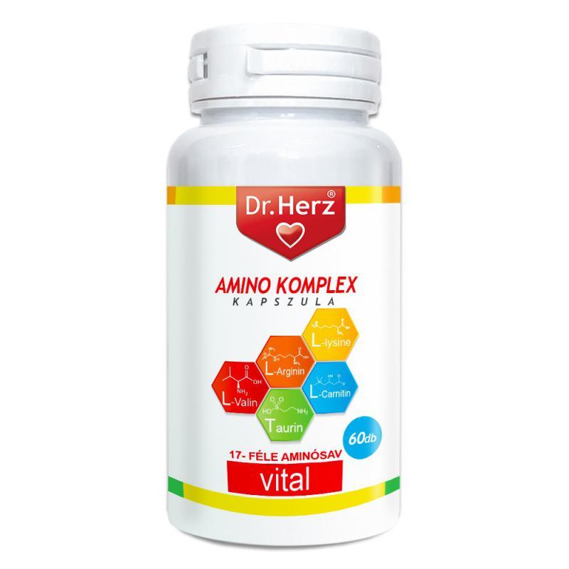 DR Herz Amino komplex 60 db kapszula