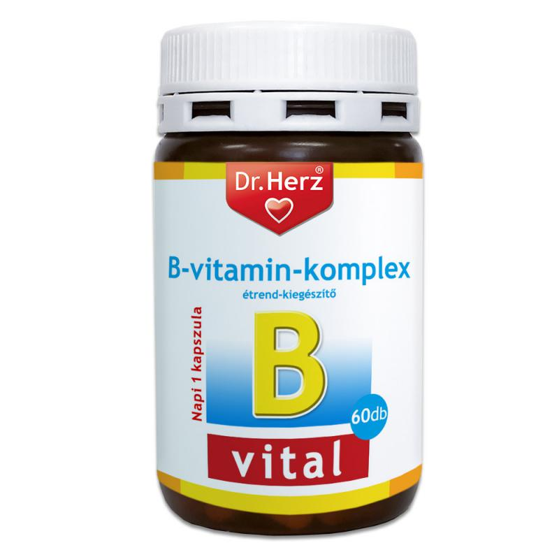 DR Herz B-Komplex 60 db kapszula