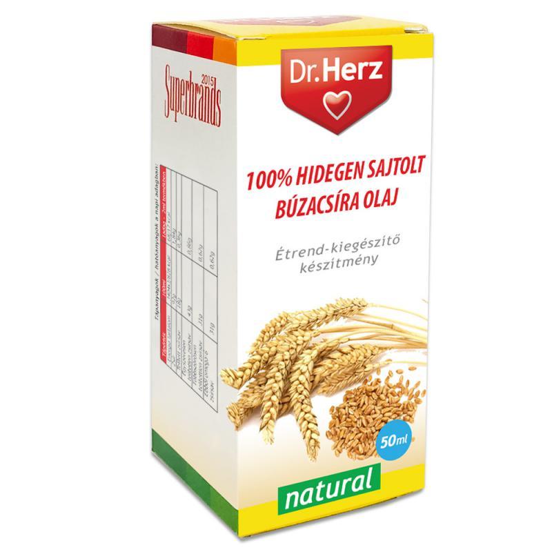 DR Herz Búzacsíra olaj 100% hidegen sajtolt 50ml