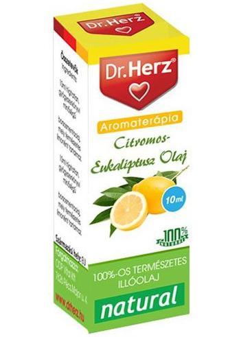 Dr. Herz citromos-eukaliptusz illóolaj – 10ml