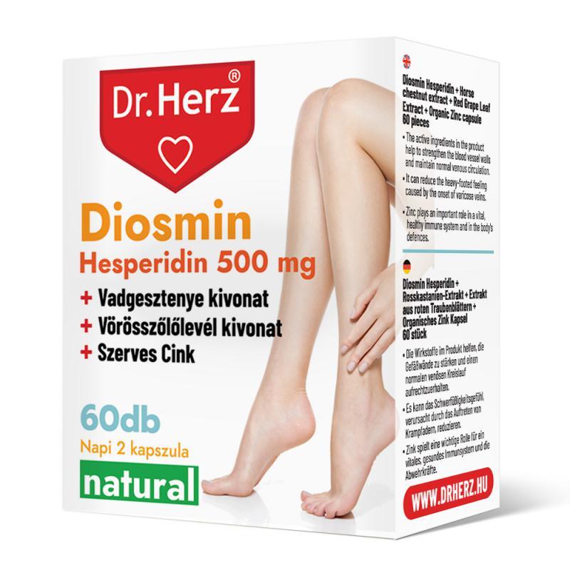 DR Herz Diosmin Hesperidin 500 mg 60 db kapszula