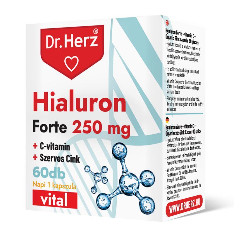 DR Herz Hialuron Forte 250 mg 60 db kapszula