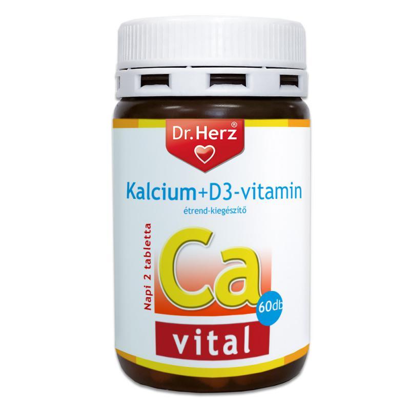 DR Herz Kalcium+D3 vitamin 60 db tabletta