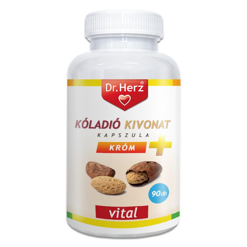 DR Herz Kóladió Kivonat + Króm 90 db kapszula