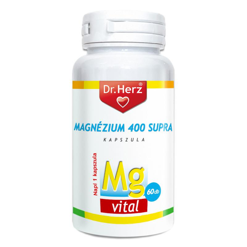 DR Herz Magnézium Supra 400mg 60 db kapszula