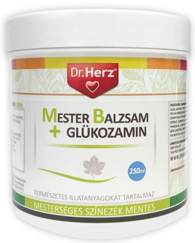 DR Herz Mesterbalzsam + Glükozamin 250 ml